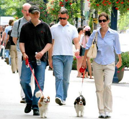 Прогулка собаки